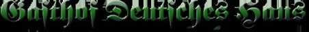 Deutsches Haus Nordstemmen - Logo