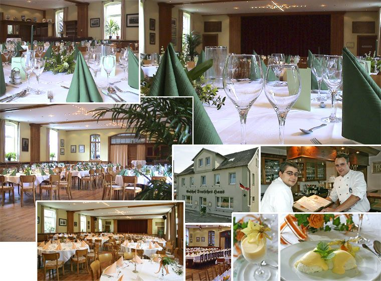 Book our hall for up to 130 people